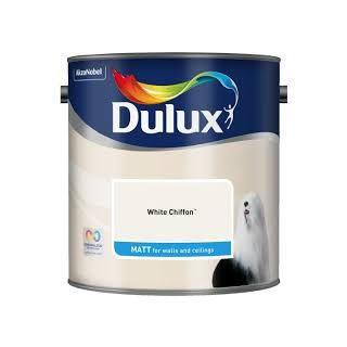 Dulux White Chiffon - Matt-2.5L