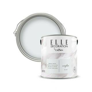 ELLE Decoration by CROWN Flat MATT Emulsion Paint - Angelic No 606 2.5L