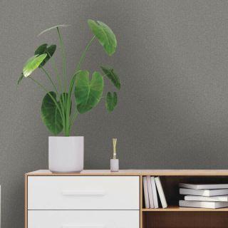 Holden Decor Eden Texture Charcoal Glitter Wallpaper - 35911