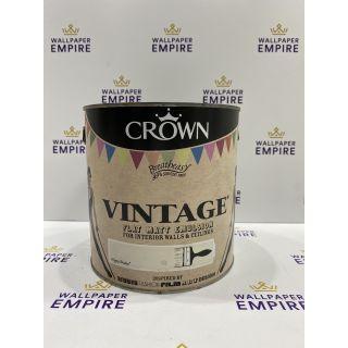 Crown Vintage Flat Matt Emulsion Paint For Interior Walls Ceilings Hippy Shake