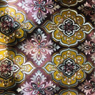 Wallpaper Empire Metallic Brown And Yellow Damask Wallpaper