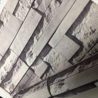 Wallpaper Empire Realistic Slate Vinyl Wallpaper