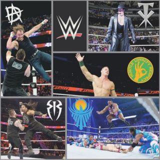 Kids Boys Children WWE Wrestling Wallpaper By Debona Official Licences Product
