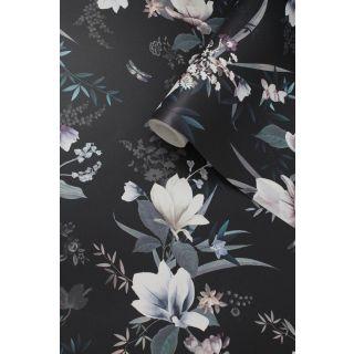 Muriva Lipsy Lotus Floral Wallpaper - 144053