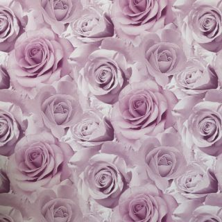 Muriva Madison Wallpaper 119505 - Feature Wall Large Rose Flower Floral Pink