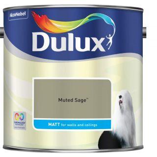 Dulux Muted Sage- Matt- 2.5L