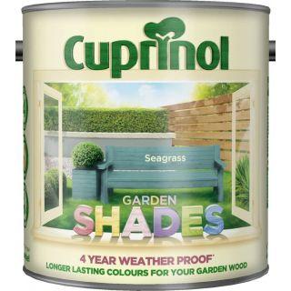 New 2017 Cuprinol Garden Shades Seagrass 2.5L