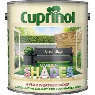 New 2017 Cuprinol Garden Shades Urban Slate 2.5L