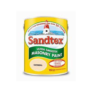 Sandtex Ultra Smooth Masonry Paint Oatmeal 5L
