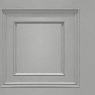 Oliana Wood Panel Wallpaper Belgravia 8492 Grey