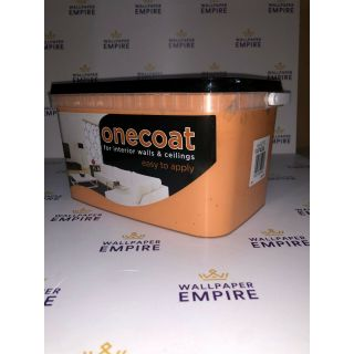 One Coat Matt Emulsion - Orange 5L