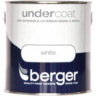 Berger Undercoat - Pure Brilliant White 2.5L