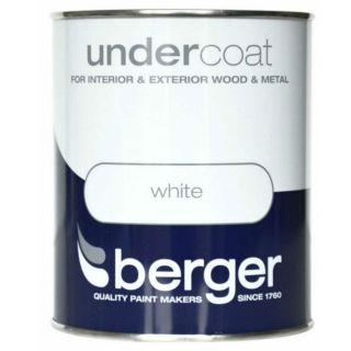 Berger Undercoat - White 500ml