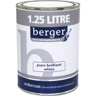 Berger Undercoat - White 1.25 L