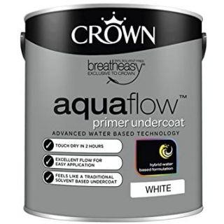 Crown Retail Aquaflow Primer Undercoat - White 2.5 L