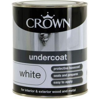 Crown Retail Undercoat Pure Brilliant White 0.75 L