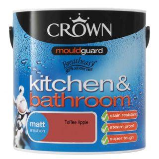 Crown Kitchen & Bathroom Matt - Toffee Apple 2.5 L
