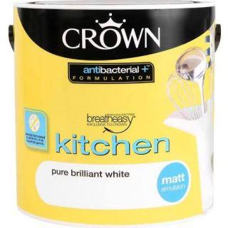 Crown Retail Kitchen - Pure Brilliant White 2.5 L