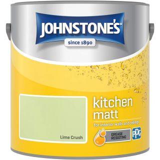 Johnstone's Kitchen Paint Matt - Lime Crush 2.5 L