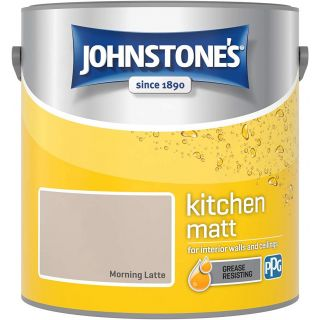Johnstone's Kitchen Paint Matt - Morning Latte 2.5 L