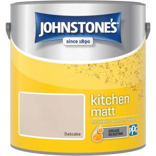 Johnstone's Kitchen Paint Matt - Oatcake 2.5 L
