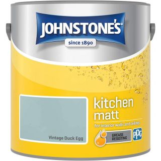 Johnstone's Kitchen Paint Matt - Vintage Duck Egg 2.5 L