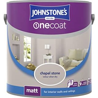 Johnstones Kitchen & Bathroom Midsheen Emulsion Paint - Chapel Stone 2.5 L