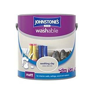 Johnstones Interior Washable Matt - Soothing Clay 2.5 L