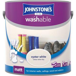 Johnstones Interior Washable Matt - Oyster White 2.5L