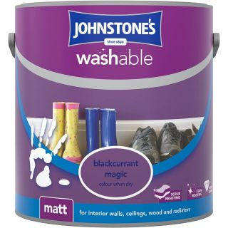 Johnstones Interior Washable Matt - Blackcurrant Magic 2.5L
