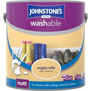 Johnstones Interior Washable Matt - English Trifle 2.5L