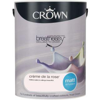 CROWN MATT EMULSION - CREAM DE LA ROSE 5L