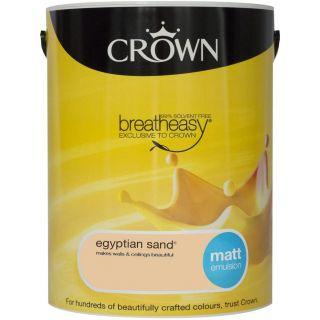 CROWN MATT EMULSION - EGYPTIAN SAND 5L
