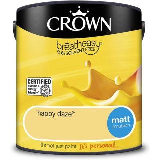 CROWN MATT EMULSION - HAPPY DAZE 2.5L