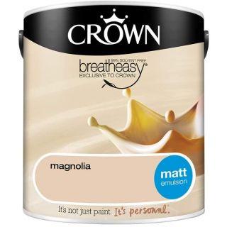 CROWN MATT EMULSION - MAGNOLIA 2.5L