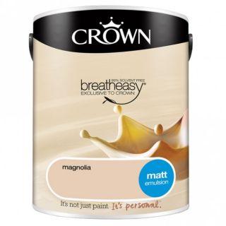 CROWN MATT EMULSION - MAGNOLIA 5L