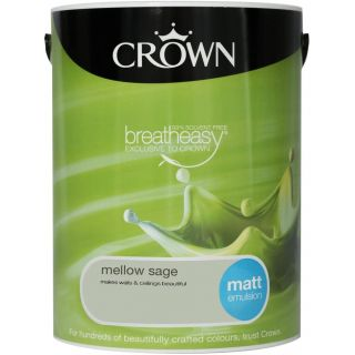 CROWN MATT EMULSION - MELLOW SAGE 5L