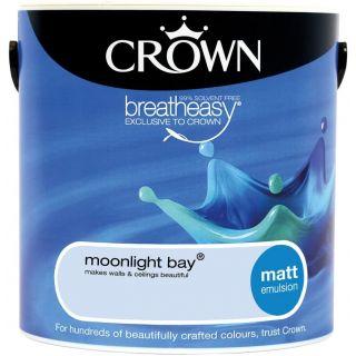 CROWN MATT EMULSION - MOONLIGHT BAY 2.5L
