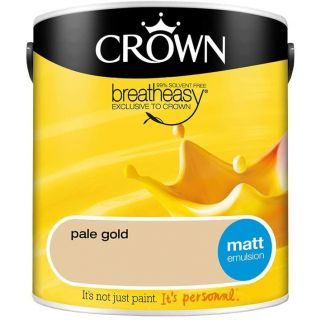 CROWN MATT EMULSION - PALE GOLD 2.5L