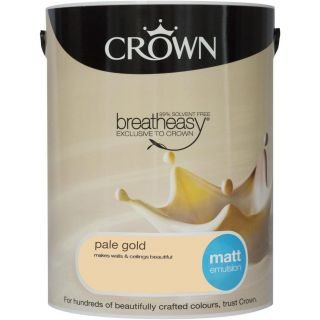 CROWN MATT EMULSION - PALE GOLD 5L