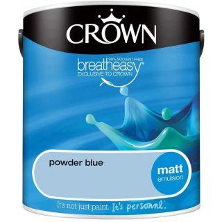 CROWN MATT EMULSION - POWDER BLUE 2.5L
