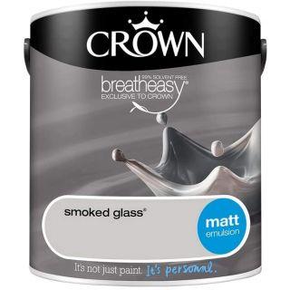 CROWN MATT EMULSION - SMOKED GLASS 2.5L