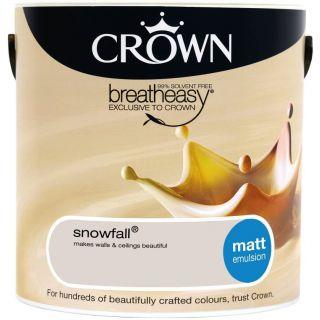 CROWN MATT EMULSION - SNOWFALL 2.5L