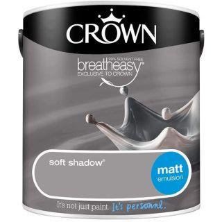 CROWN MATT EMULSION - SOFT SHADOW 2.5 L