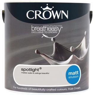 CROWN MATT EMULSION - SPOTLIGHT 2.5L
