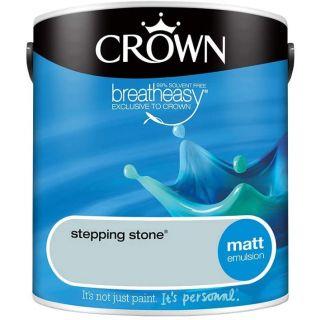CROWN MATT EMULSION - STEPPING STONE 2.5L