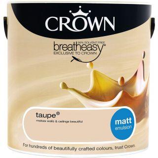 CROWN MATT EMULSION - TAUPE 2.5L