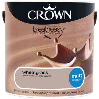 CROWN MATT EMULSION - WHEATGRASS 2.5L