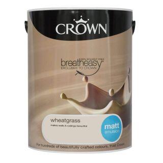 CROWN MATT EMULSION - WHEATGRASS 5L