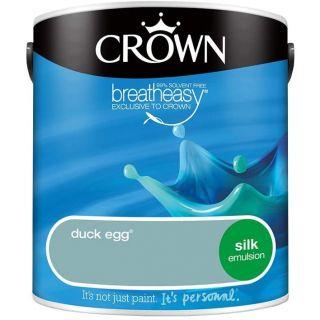CROWN SILK EMULSION - DUCK EGG 2.5L